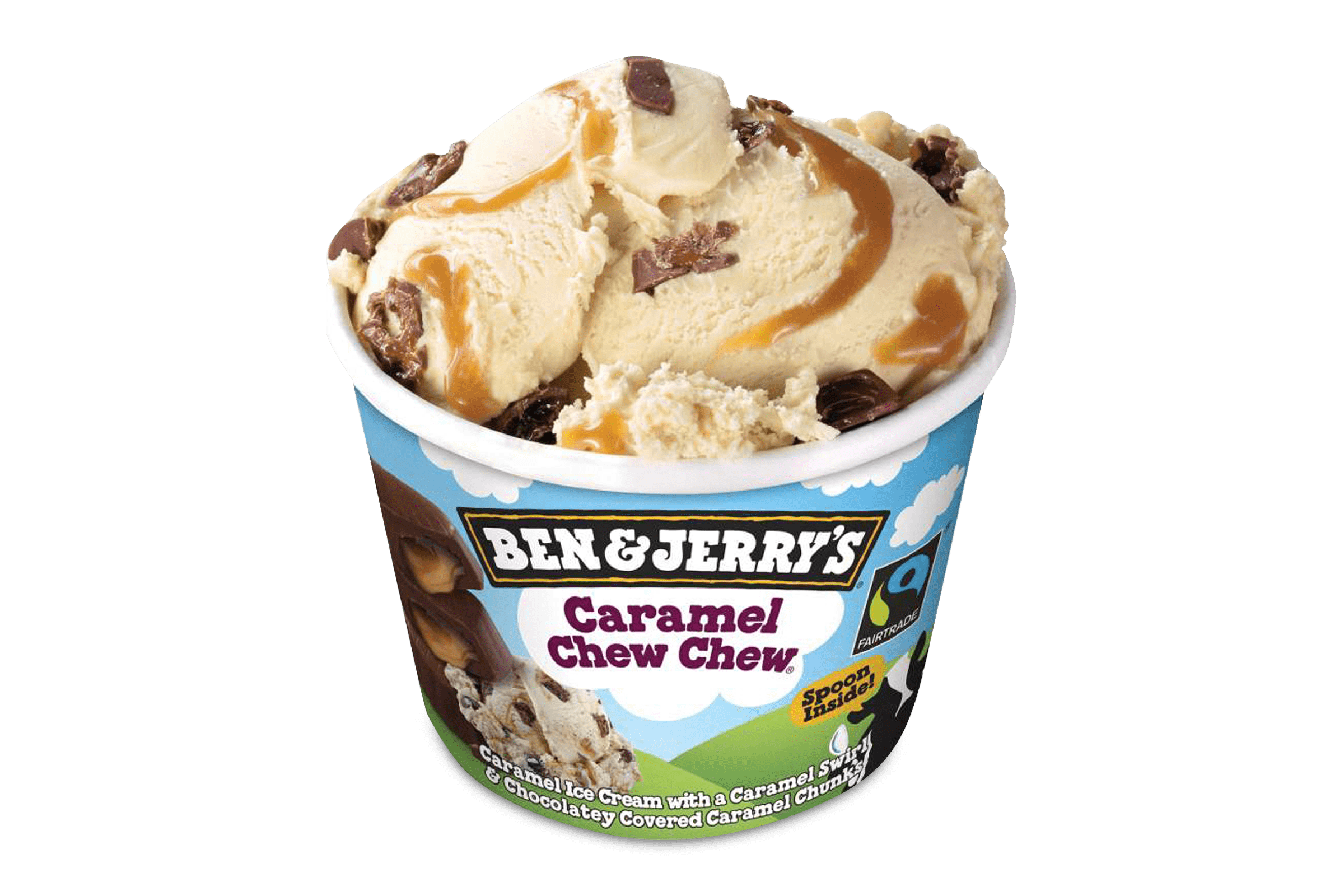 Ben and Jerrys Caramel Chew Chew 100 ml 1