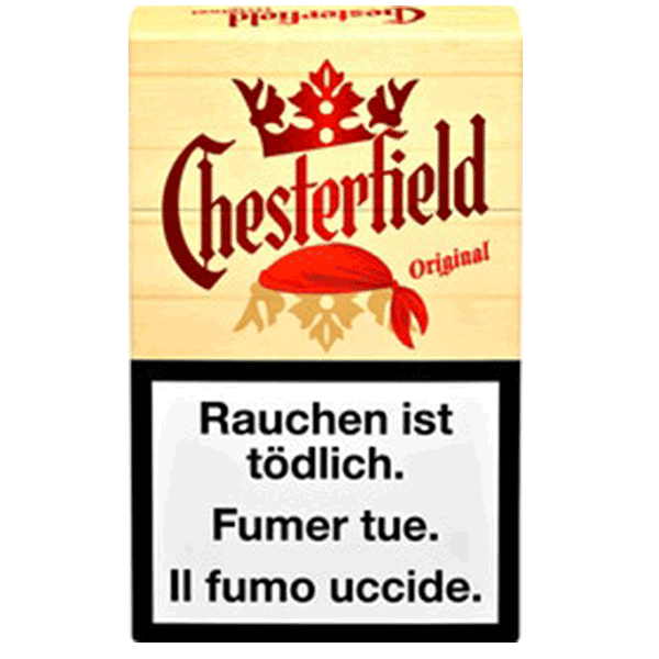 chesterfield original Zigaretten