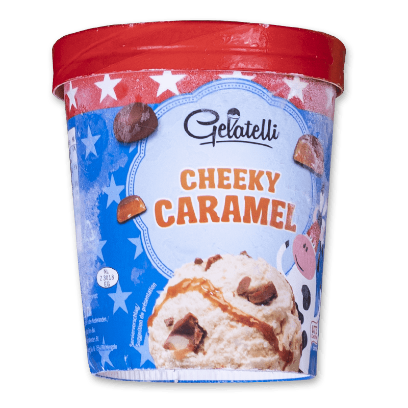 Gelatelli Cheeky Caramel 500ml