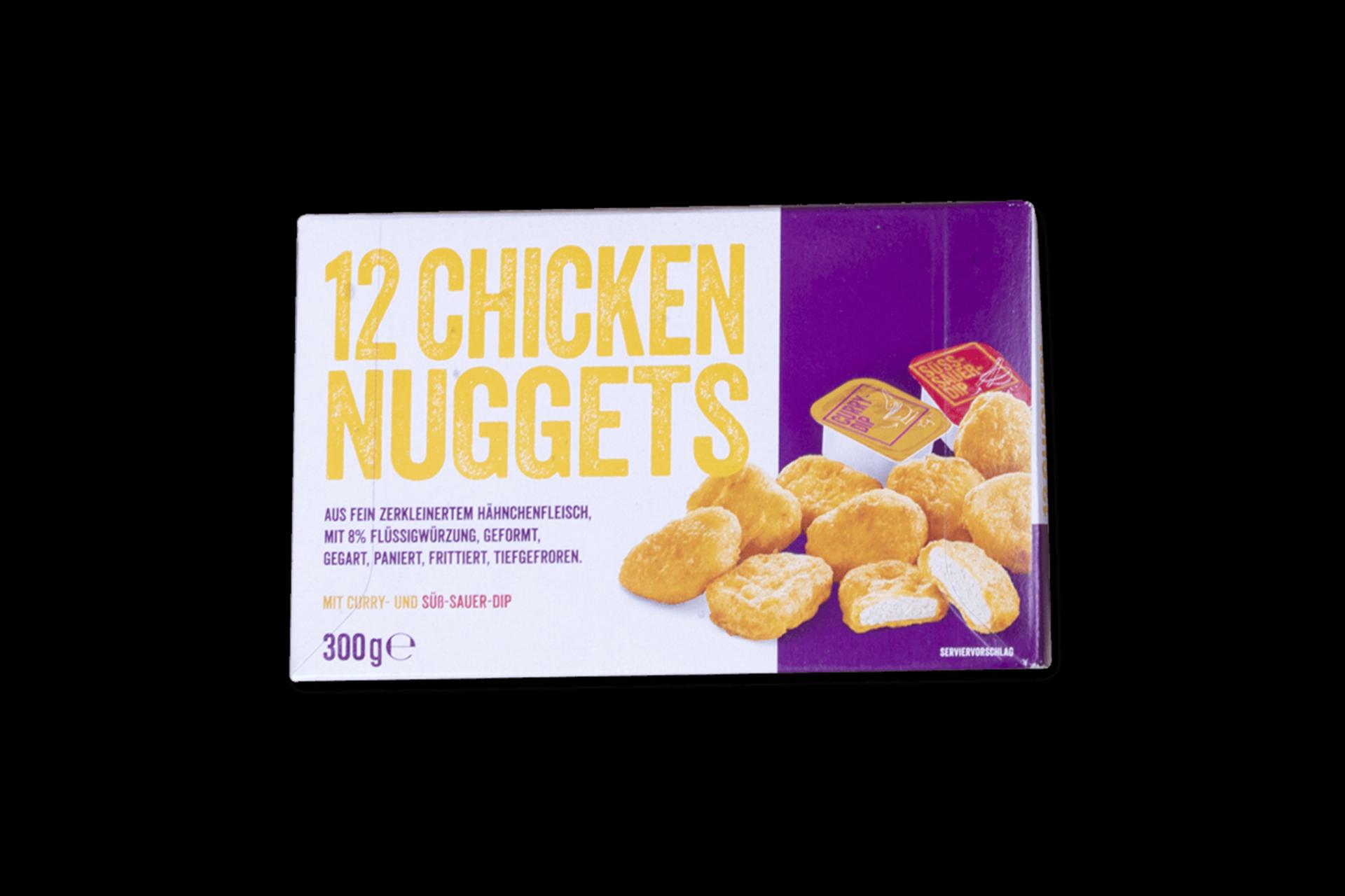 Chicken Nuggets mit Dip Sauce (12 Stk.) 1