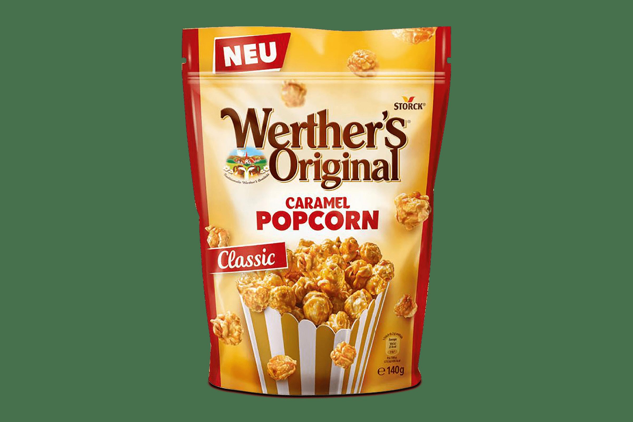 Popcorn Caramel Werthers 1