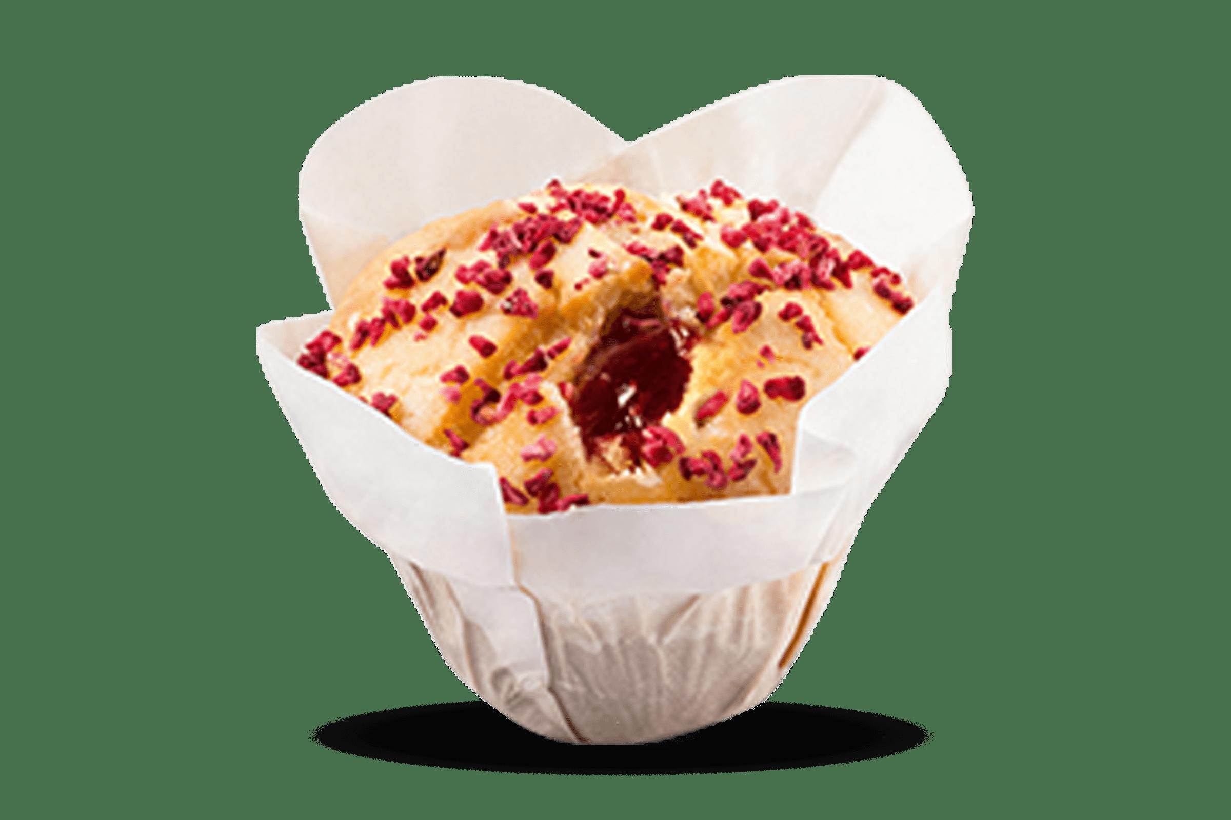 Raspberry Yoghurt Muffin 1