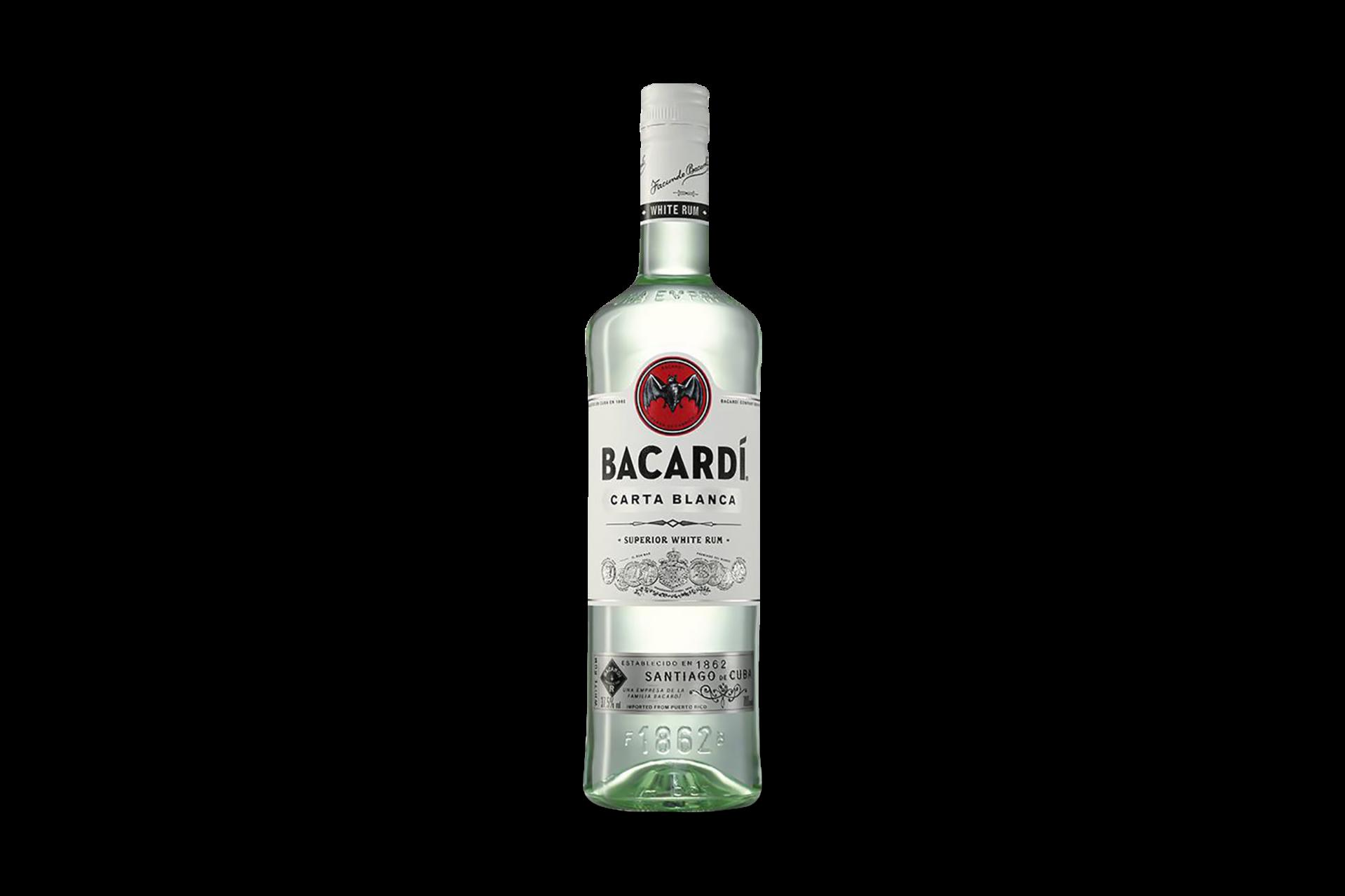 Bacardi Carta Blanca 0.7 l 1