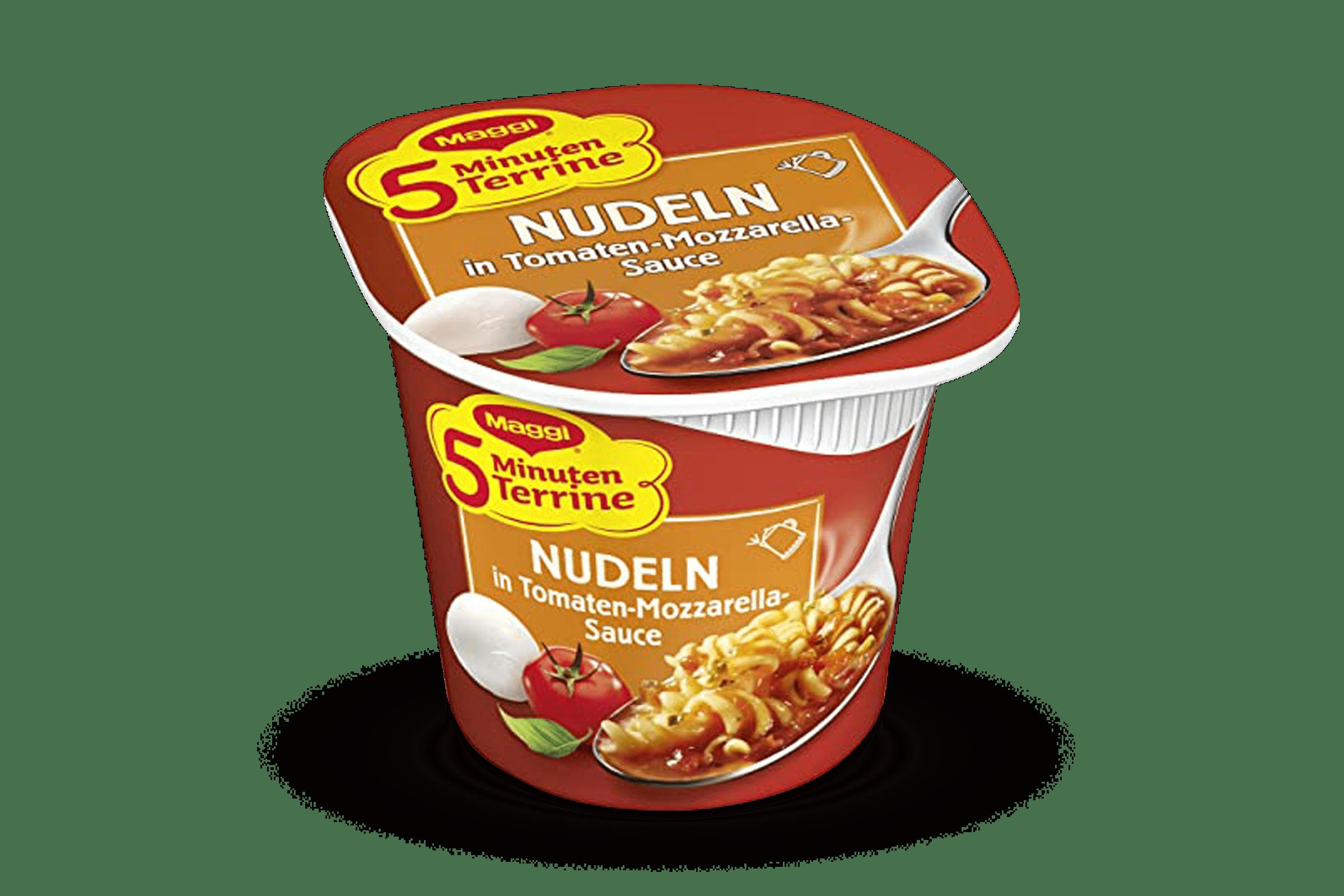 Nudeln Tomaten- Mozzarellasauce Maggi 1