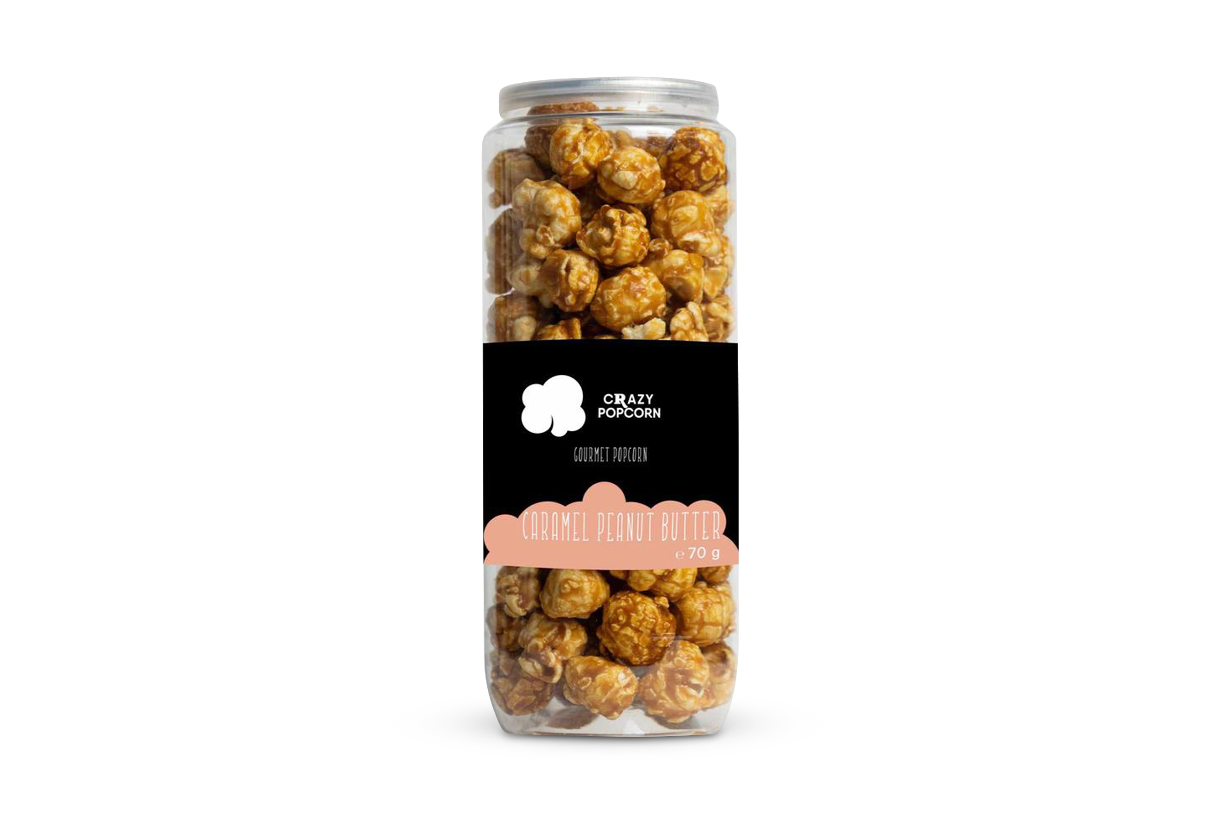 Crazy Popcorn Caramel Peanut Butter 1