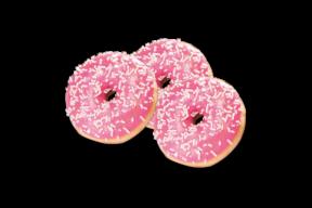 Mini Erdbeer Donut (3 Stk.) 48