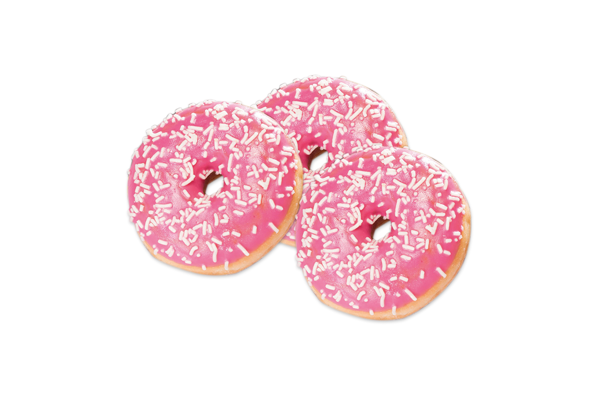 Mini Erdbeer Donut (3 Stk.) 1